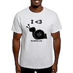I <3 Turbo Snail - Light T-Shirt