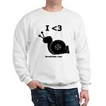 I <3 Turbo Snail - Sweatshirt by BoostGear.com