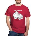 Size Matters - Men's Dark T-Shirt