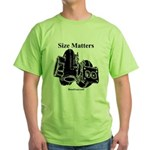 Size Matters - Green Turbocharger T-Shirt