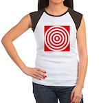 b401.red circlez Women's Cap Sleeve T-Shirt