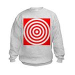 b401.red circlez Kids Sweatshirt
