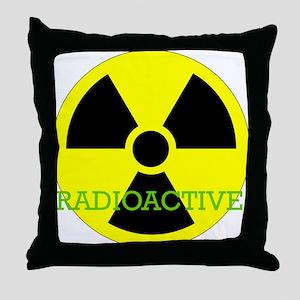 Radioactive Throw Pillow
