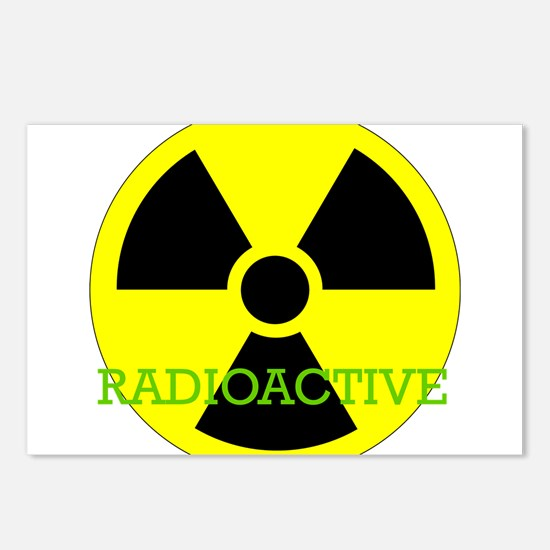 Radioactive Postcards (Package of 8)