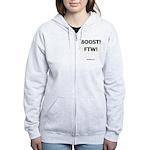 BOOST! FTW! - Women's Zip Hoodie
