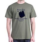 Race Gas Makes Her - Dark T-Shirt