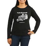 Twin Screwed! - Women's Long Sleeve Dark T-Shirt