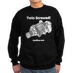 Twin Screwed! - Supercharger - Sweatshirt (dark)