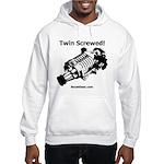 Twin Screwed! - Supercharger - Hooded Sweatshirt