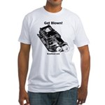 Get Blown - Supercharger - Fitted T-Shirt