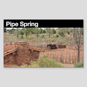 Pipe Spring NM Sticker (Rectangular