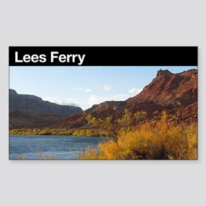 Lees Ferry Rectangle Sticker