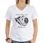 Boost Gear - 90mm + Club - Women's V-Neck T-Shirt