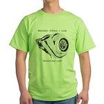 Boost Gear - 60mm + Club - Green Racing T-Shirt