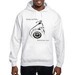 Staring is not Polite - Hooded Sweatshirt
