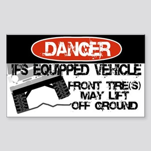 IFS Equipped Vehicle Rectangle Sticker