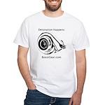 Detonation Happens - BoostGear - White T-Shirt