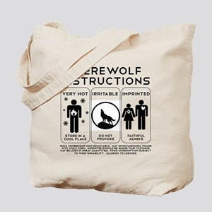 Werewolf Instructions Tote Bag