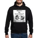 Where's My Second Gear? - Hoodie (dark)