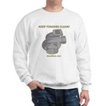 KEEP FINGERS CLEAR - Sweatshirt