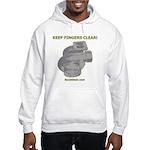 KEEP FINGERS CLEAR - Hooded Sweatshirt