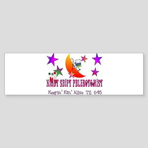 phlebotomist III Bumper Sticker