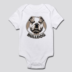 Eng. Bulldog Face Infant Bodysuit