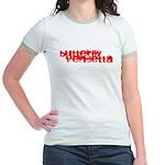 Butterfly Vendetta Junior Ringer T-Shirt
