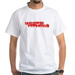 Butterfly Vendetta White T-Shirt