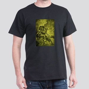 Odin & Fenris - Yellow Dark T-Shirt