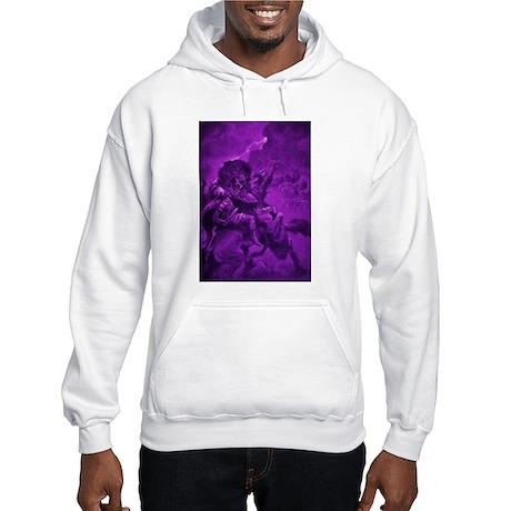 Odin & Fenris - Violet Hooded Sweatshirt