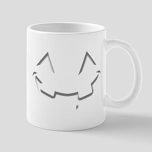 Smiley Halloween White wn Mug