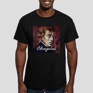 Chopin Men's Fitted T-Shirt (dark)