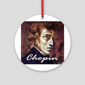 Chopin Ornament (Round)