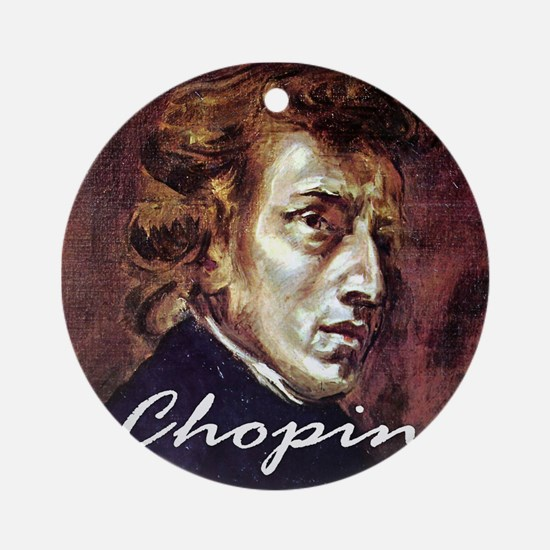 Chopin Ornament (Round)