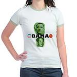 Obamao Jr. Ringer T-Shirt