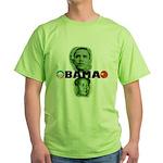 Obamao Green T-Shirt