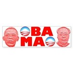 Obamao Bumper Sticker