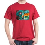 Mayan Glyph or Mexican Wrestler T-shirt