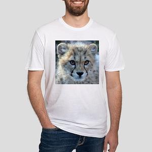 Cheetah Cub Fitted T-Shirt