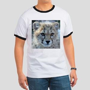 Cheetah Cub Ringer T