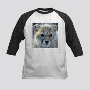 Cheetah Cub Kids Baseball Jersey