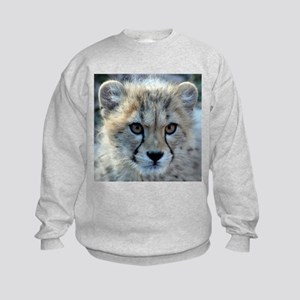 Cheetah Cub Kids Sweatshirt
