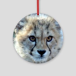 Cheetah Cub Ornament (Round)