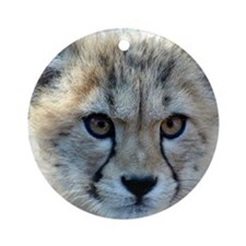 Cheetah Cub Ornament (Round)