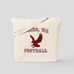 Forks Football Tote Bag
