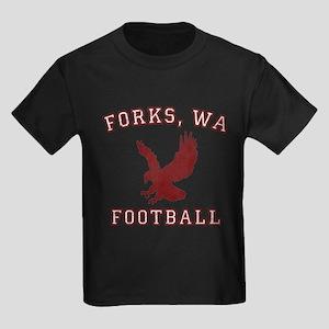 Forks Football Kids Dark T-Shirt
