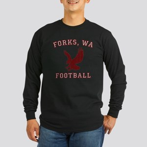 Forks Football Long Sleeve Dark T-Shirt