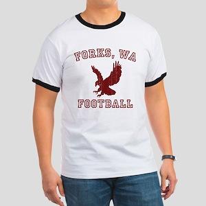 Forks Football Ringer T