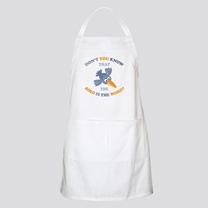 The Bird Is The Word BBQ Apron